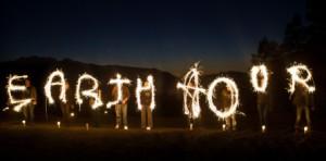 Biletet er henta frå Earth Hour sine sider